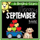 September Morning Bright {Kindergarten Math Morning Work}