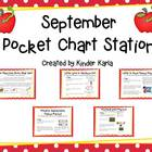 September Pocket Chart Station