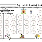 September Reading Log