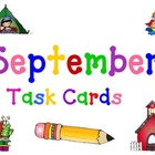September Task Cards