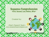 Sequence Comprehension- Earth Day Theme