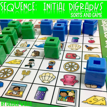 Sequence Game and Sorts for ch, sh, and th