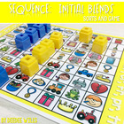 Sequence Game and Sorts for initial blends br, cr,dr, gr, tr