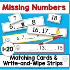 Sequence of Numbers: Matching Cards 0-20