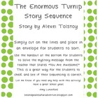 Sequence of the story The Enormous Turnip