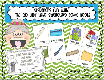 Sequencing Fun with The Old Lady Who Swallowed Some Books