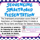 Sequencing Smartboard Presentation