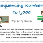 Sequencing/Counting Numbers to 1,000 (Common Core Aligned}