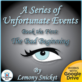 Series of Unfortunate Events: The Bad Beginning Novel Unit CD