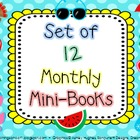 Set of 12 Monthly Mini-Books