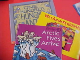 Set of 3 Early Learning Math Literature Books