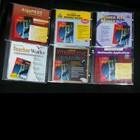 Set of 6 CDs to supplement Glencoe Mathematics Algebra 1 Textbook