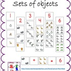 Sets of objects:  Matching set to #:  Eureka Math - Engage