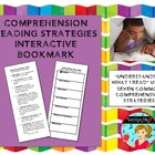 Seven Comprehension Strategies Bookmark