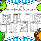 Seven FREE Animal Graphic Organizers