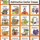 Seventeen Interchangeable Halloween Addition and Subtracti