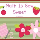 Sew Sweet Math