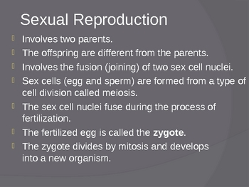 Sexual Reproduction in Animals PowerPoint Presentation Les