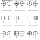 Shading Equivalent Fractions