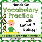 Shake-a Bottle: Hands-on Practice with Vocabulary and Decoding