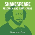 Shakespeare Background Research: RAFT Cards &amp; Top 10