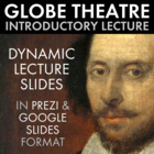 Shakespeare Globe Theatre Lecture & Fun Hands-on Activity,
