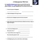 Shakespeare Webquest