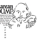 Shakespearean Brain Dump Review Activity