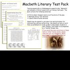 Shakespeare's Macbeth Test Pack