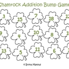 Shamrock Bump Addition Game