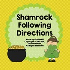 Shamrock Following Directions