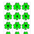 Shamrock Number Cards