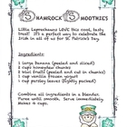 Shamrock Smoothies Recipe