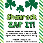 Shamrock ZAP IT!