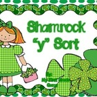 "Shamrock ""y"" Ending Word Sort"