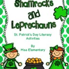 Shamrocks and Leprechauns - St. Patrick&#039;s Day Literacy Cen