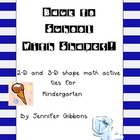 Shape Activity Pack- 2D and 3D