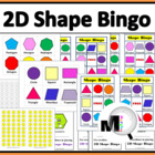 Shape Bingo Game
