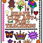 Shape Clip Art for Teachers