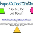 Shape Concentration ~ 2.G.1