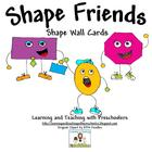 Shape Friends Wall Cards