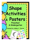 Shape Hunt Game & Other Activities Preschool & K