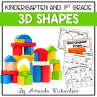 """Shape"" It Up! {a unit teaching 3D figures and their attributes}"