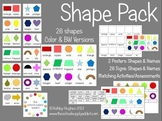 Shape Pack {Printables for 26 2D Shapes}