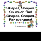 Shape Playdough Mats!