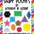 Shape Posters: Rainbow Theme
