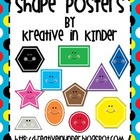 Shape Posters: Super Hero Theme