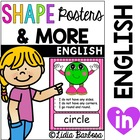 Shape Posters and More in English