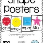 Shape Posters {black and white stripe}