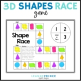 Shape Race {3D Shapes}